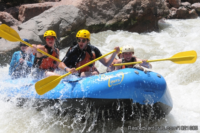 Fun in the Sun - CO. Whitewater Rafting and Guided Float Fishing
