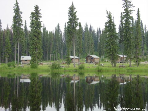 Finger Lake Wilderness Resort-GETAWAY,Relax&Unwind: View of Lakeside Cabins