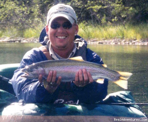 Trophy Rainbow Trout - Finger Lake Wilderness Resort-GETAWAY,Relax&Unwind