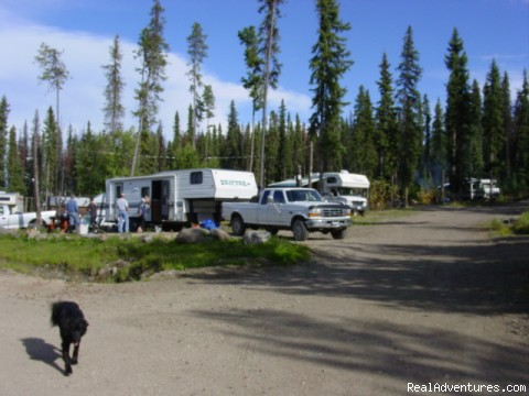 RV Campsites with 24 hour light power - Finger Lake Wilderness Resort-GETAWAY,Relax&Unwind