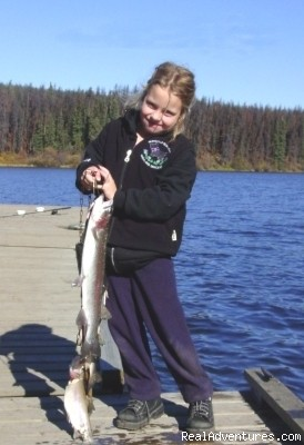 Kids catch fish - Finger Lake Wilderness Resort-GETAWAY,Relax&Unwind