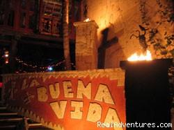 La Buena Vida Restaurant entry - Half Moon Bay's Vista del Mar Condos/Hotel
