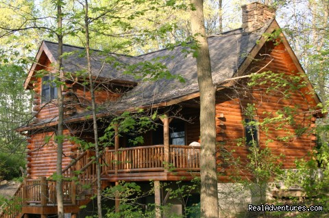 Cedar Cabin - Romantic Secluded Cabins--Donna's Premier Lodging