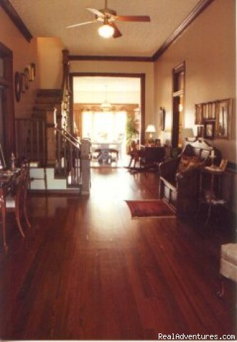 Rocky Mount Bed and Breakfast Entrance Hall