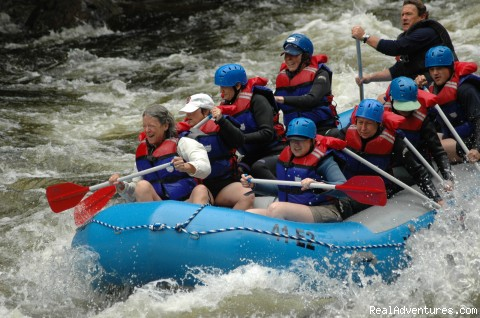 Adult Women's Group - Magic Falls Rafting Company
