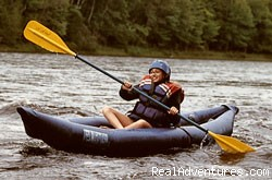 Have fun in a funyak - Magic Falls Rafting Company
