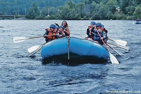Floating down the lower Kennebec - Magic Falls Rafting Company