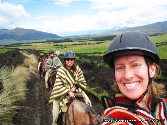 Horseback Riding Ecuador - BikeHike Adventures