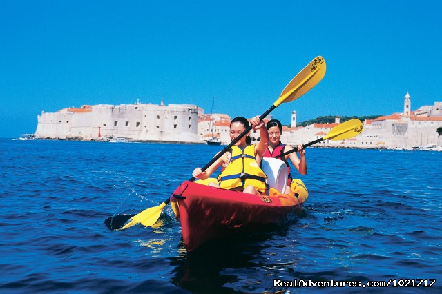 Sea Kayaking Croatia - BikeHike Adventures
