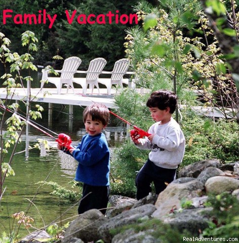 Great Family Vacation - Lakeside Getaway in Maine