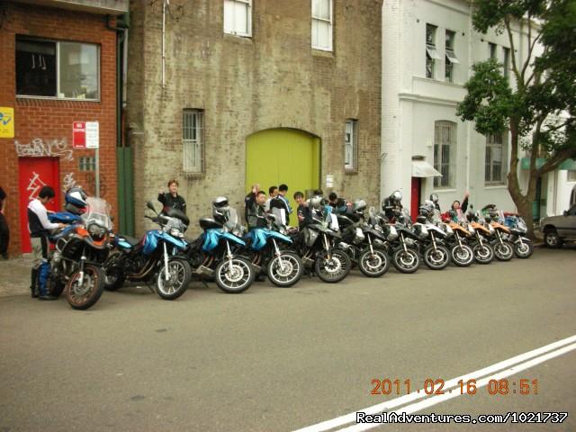 BMW tour - Bikescape Motorcycle Tours & Rentals