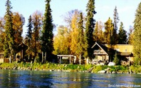 Alaska Fishing Adventures at Krog's Kamp Krog's Kamp on the Kenai River