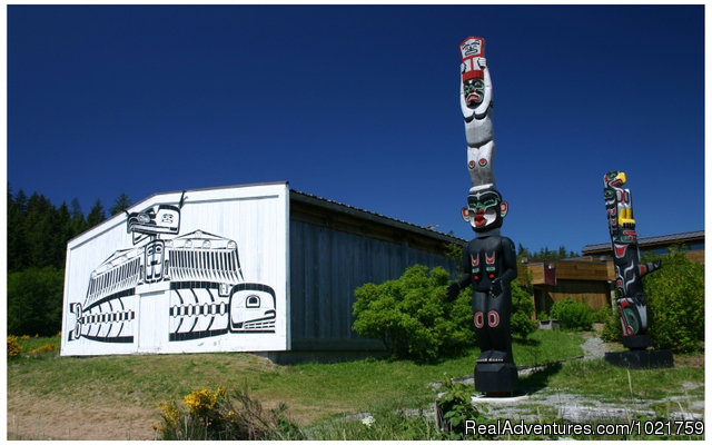 U'mista Cultural Centre - Alert bay - Small Group Rockies & Vancouver Island Vacations