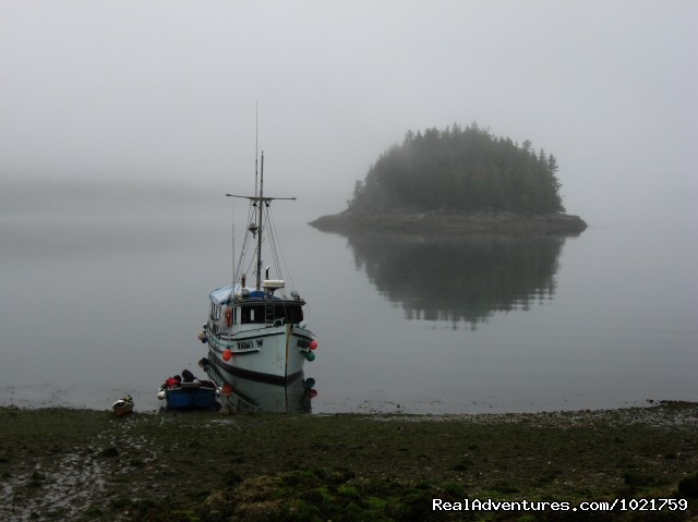 Waiting for the tide - Small Group Rockies & Vancouver Island Vacations