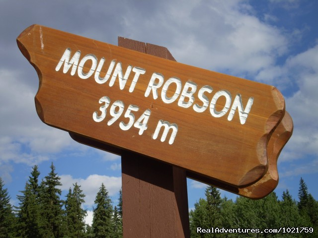 The highest mountain in the Rockies - Small Group Rockies & Vancouver Island Vacations