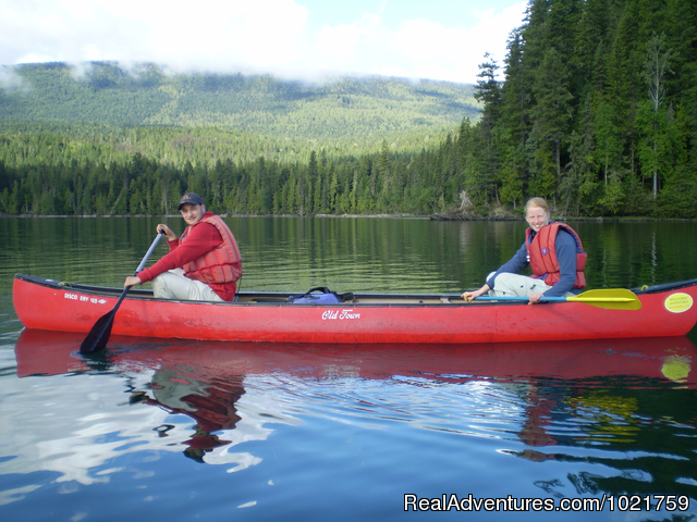 Overnight Canoe Trip - Small Group Rockies & Vancouver Island Vacations