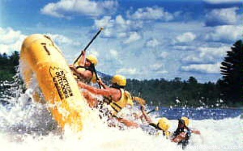 Experience the adventure of a lifetime with NEW ENGLAND'S #1 OUTDOOR ADVENTURE RESORT! World class whitewater rafting and sea kayaking in Maine, with trips for all ages and experience levels. Grand log Lodge, deluxe lakeside log cabins, great food!