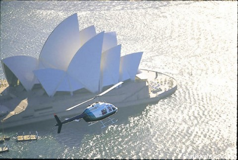 Helicopter ride over Sydney - Australian Wild Escapes