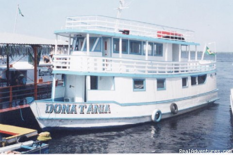 Amazon Houseboat Tours