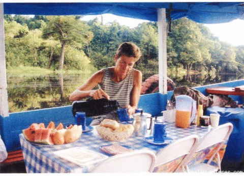 Breakfast - Amazon Houseboat Tours