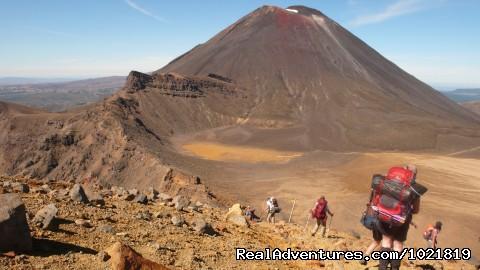 Mt Tongariro - Hiking New Zealand