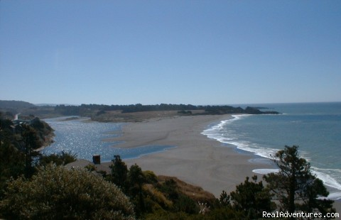 Where the river meets the sea! - Adventure Rents on the Redwood Coast