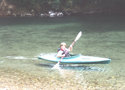 Kids can kayak too! - Adventure Rents on the Redwood Coast