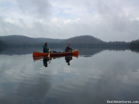 Canoeing - POW-WOW Wilderness Trips