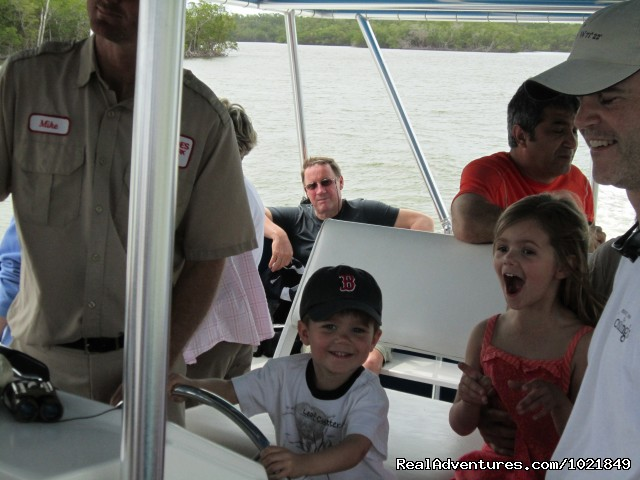 Captain of the cruise? - Everglades Day Safari