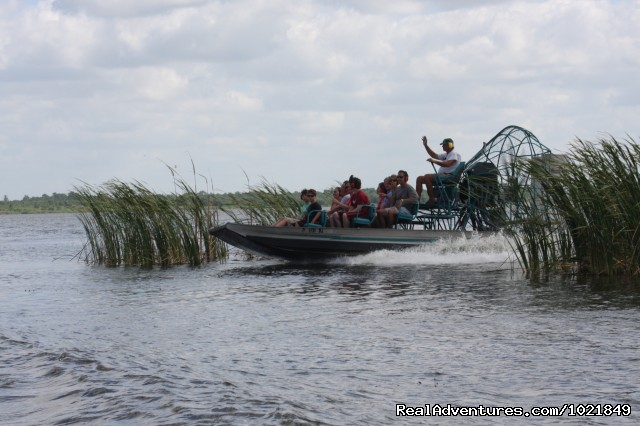 Airboat ride - Everglades Day Safari
