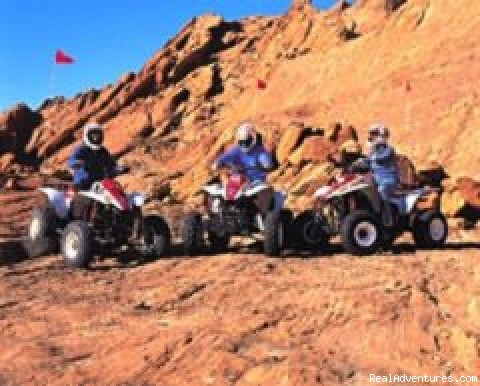 ATV-Quad Adventure - Valley of Fire - A T V Action Tours, Inc.
