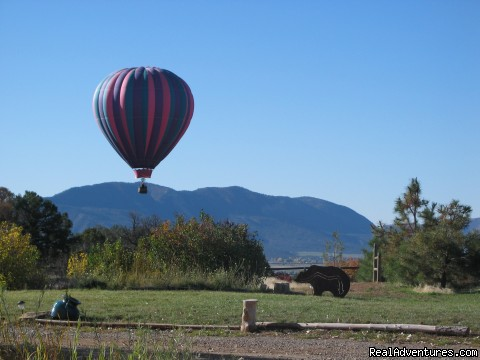 September is balloon fest time in Mancos - Sundance Bear Lodge at Mesa Verde