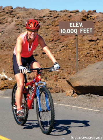 Biking from 10,000' - Downhill Bike Maui At Your Own Pace