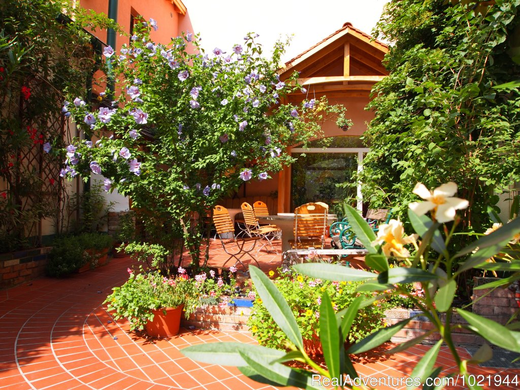 A beautiful garden in the heart of the city | Image #2/8 | Hostel Ruthensteiner