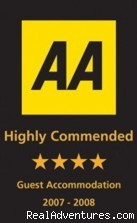AA 4 Star Guest Accommodation - Westbourne Guest House - Riverside location