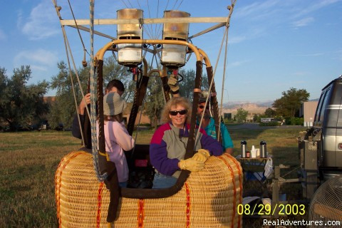 Take Off - Balloon Flights in Boulder Colorado
