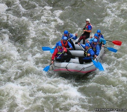 Sports-Rafting / Salzach River | Image #3/18 | CROCODILE SPORTS Oudoor Adventure GmbH