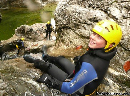 Canyoning Tour Swiss Cheese | Image #12/18 | CROCODILE SPORTS Oudoor Adventure GmbH