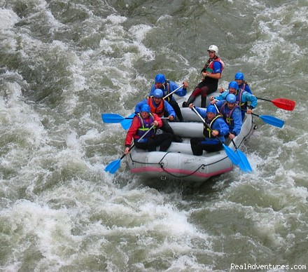 Sports-Rafting / Salzach River - CROCODILE SPORTS Oudoor Adventure GmbH