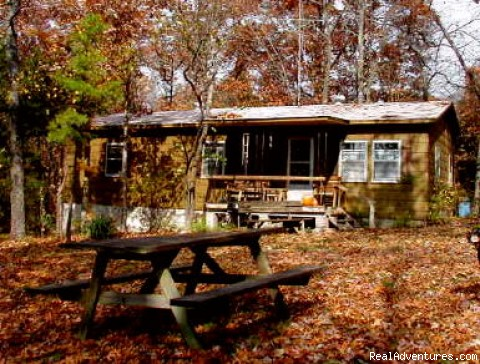Indian House Bluff Cottage - ROCK EDDY BLUFF FARM - A Scenic Ozark Getaway
