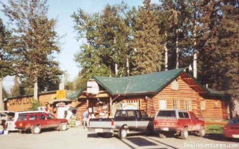 Gwin's Lodge & Kenai Peninsula Charter Booking: Gwin's Landmark Log Roadhouse Restaurant