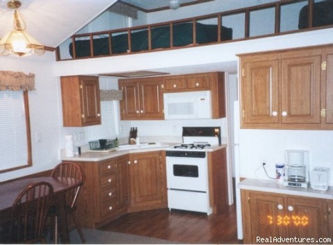 Deluxe Chalet Interior - Gwin's Lodge & Kenai Peninsula Charter Booking