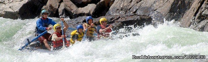 Clavey Falls Rapid, Tuolumne River | Image #5/7 | California River Rafting near Yosemite