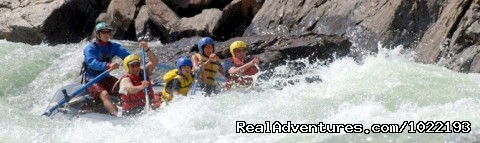 Clavey Falls Rapid, Tuolumne River - California River Rafting near Yosemite