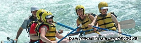 - California River Rafting near Yosemite