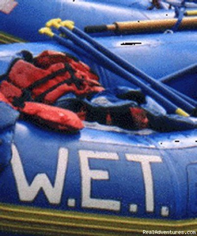 W.E.T. on the rafts at rest | Image #6/6 | California Whitewater Rafting W.E.T. River Trips