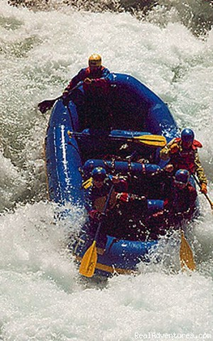 Paddle boat on the American River (#2 of 9) - California Whitewater Rafting W.E.T. River Trips
