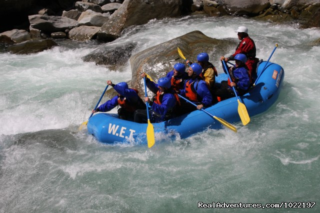 WET River Trips on American Whitewater - California Whitewater Rafting W.E.T. River Trips