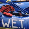 W.E.T. on the rafts at rest