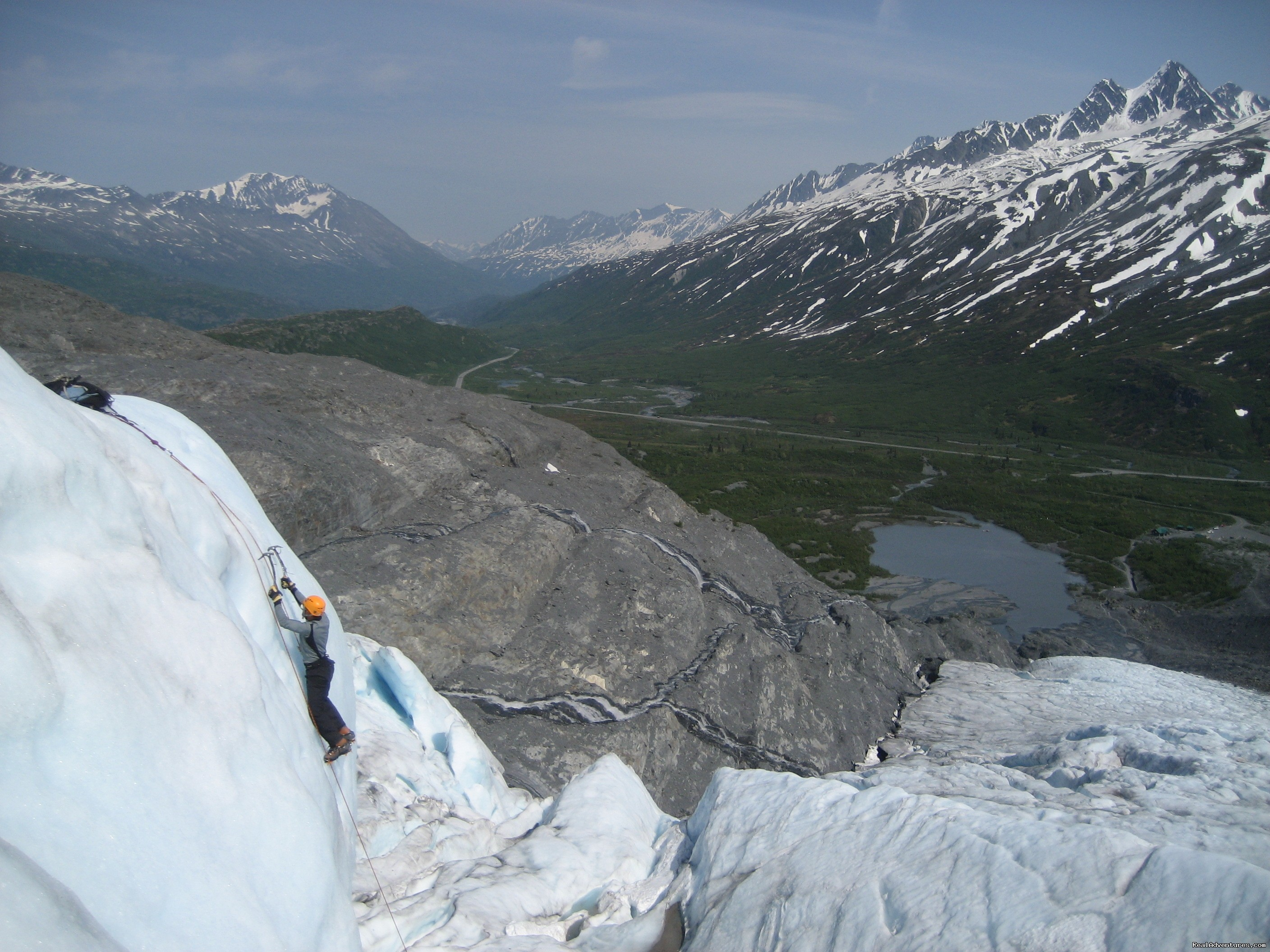 Climb the Worthington Glacier.